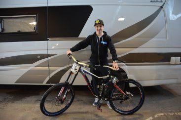 Danny Hart Down Hill Mountain Biker