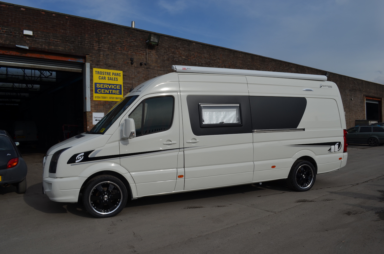 2010 Vw Crafter Race Van Camper Welsh Coast Campers